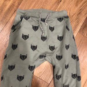 rylee + cru Bottoms - Rylee and Cru fox sweatpants